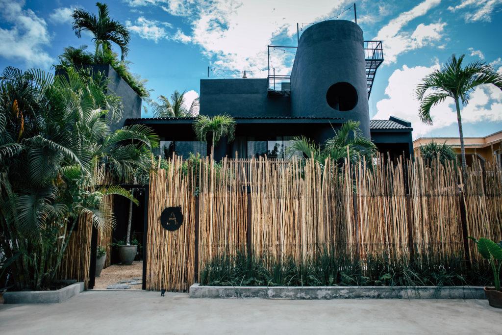 Fachada Hotel Aroma Tulum